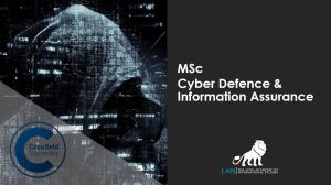 MSc Cyber Defence and Information Assurance