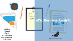 MSc in Business Analytics at Manchester Metropolitan University