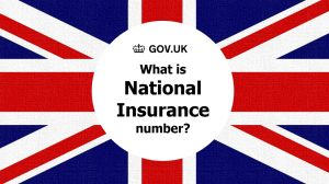 National Insurance number คือเลขประจำตัวผู้เสียภาษีที่อังกฤษ