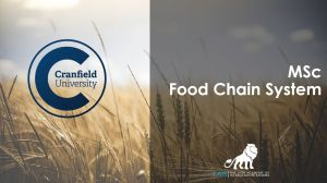 MSc Food Chain System