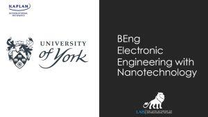 Electronical Engineering Nanotechnology