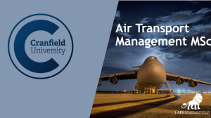 MSc Air Transport Management at Cranfield University